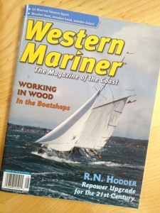 Dorothy makes the press – Pacific Yachting and Western Mariner